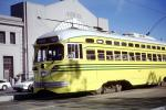Cincinnati-Ohio, No. 1057, F-Line, PCC, Muni, the Embarcadero, Pier 35, San Francisco, California