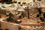 Model Train Layout, streets, houses, buildings, Mining, VRMV01P10_09