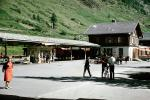 Gronergrat Bahn, Train Station, Zermatt, Switzerland, 1950s