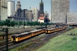 Chicago, Rail yards, Coca-Cola Sign, Interurban, streetcar, 1950's, VRPV04P14_19