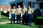 men, Marines, Derryfield Country Club, Manchester, New Hampshire, September 1959, 1950's, WEDV26P04_04