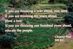 If you are thinking a year ahead . . . . , Photo-quote