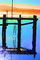 Pier, Dock, Calm, Reflection, Bodega Bay, Sonoma County, California, ABGD01_148B
