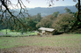 Stables, Horse, Hills, forest, trees, St. Helena, Napa Valley, California, AHSV02P08_17