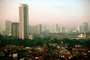 Jakarta Cityscape, Skyline, Building, Skyscraper, Downtown, smog, highrise