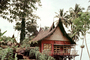 unique, grass thatched roof, home, house, building, spikey top, Padang, CADV02P01_11