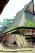 Moss, grass thatched roof house, building, Batak, Sod, CADV02P01_16