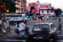 Cars, City Street Scene, Intersection, crowded, vespa, Mumbai, CAIV01P13_16C