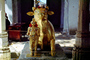 Sacred Cow, gold, Holy, Statue, deity, Mt. Abu, CAIV03P14_15