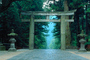 Torii Gate, Toshogu Shrine, building, shrine, temple, Nikko, CAJV02P06_13.3338