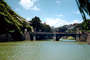 Moat, bridge, Imperial Palace, Imperial Park, 1950's