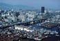 Harbor, Docks, skyline, buildings, boats, cityscape, Kobe, CAJV03P14_19