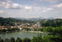 Kandy, village, lake, mountains, trees, buildings, skyline, clouds, CALV01P02_06.0630