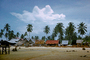 Village, Palm Trees, Beach, Clouds, CAMV01P02_04.0630
