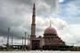 Putra Mosque, Putrajaya, building, landmark