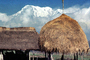 Grass Thatched building, Annapurna Sancuary, building, Sod, CANV01P14_08
