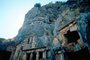 Cliff Dwellings, Cliff-hanging Architecture, Myra, Cave Entrance