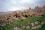 Cliff Dwellings, Cliff-hanging Architecture, Cappadocia (Kapadokya)