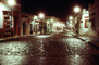 cobblestone street, night, Exterior, Outdoors, Outside, Nighttime, , CBMV03P14_14