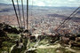 Cables, Cityscape, skyline, buildings, highrise, Mount Monserrate, Bogota