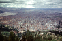Cityscape, skyline, buildings, highrise, Mount Monserrate, Bogota