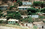Homes, houses, shack, shantytown, building, hillside, hills, mountains, city, Caracas, Venezuela, CBVV01P03_06