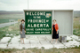 Welcome to the Province of Alberta, sign, CCAV01P03_08