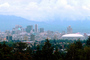 Dome Arena, Skyline, Office buildings, Cityscape, Vancouver, CCBV01P02_01.0639