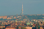 Television Tower at Zizkov, skyline, buildings, landmark, CECV01P08_03.0643