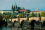 Charles Bridge, Vltava River, Prague Castle, Shoreline
