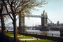 Tower Bridge, London, River Thames, Buckingham Palace Gardens, 1950's, CEEV01P14_04.2039