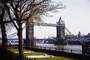 Tower Bridge, London, River Thames, 1950's, CEEV01P14_04