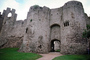 Chepstow Castle, (Welsh: Cas-gwent), Chepstow, Monmouthshire, Wales, Castell Cas-Gwent, Turret, Tower, CEEV02P01_15.1517