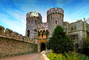 Windsor Castle, England, landmark, Turret, Tower, Castle, CEEV03P02_13.1518