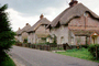 Thatched Roof House, Home, Building, street, CEEV05P02_06