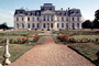 Chateau, cars, garden, path, pathway, CEFV03P10_04