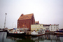 Docks, Tower, Boats, Harbor, Building, Stralsund, CEGV04P10_03