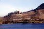Castle, Vineyard, Village, Town, Hill, Mountain, Rhine River, Terraces, (Rhein), CEGV07P15_16