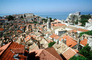 Red Rooftops, Buildings, skyline, Adriatic Sea, CEKV01P06_02