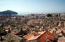 Red Rooftops, Buildings, skyline, Adriatic Sea, CEKV01P06_06