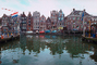 Water, Buildings, harbor, cars, homes, Amsterdam, CENV01P01_06.2593