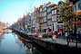 Canal, Calm, Cars, Road, Houses, Waterway, Amsterdam, CENV01P05_17.2593