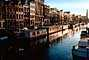 Canal, Floating Homes, Houseboats, Waterway, Amsterdam, CENV01P06_04.2593