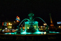 Lisbon, Water Fountain, Nighttime, CEPV01P02_06
