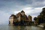 Chillon castle, Lake Geneva, Switzerland, 1950's, CESV01P13_07.1671