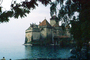 Chillon Castle, Mansion, Building, Palace, Lake, Water, Switzerland, CESV03P11_15