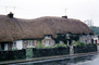 Thatched Roof House, Houses, wall, gate, street, buildings, Sod, CEVV01P11_17
