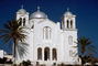 Church, Building, Cross, Thira, Santorini