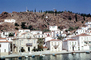Windmill, Harbor, Houses, Homes, Hydra
