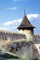Castle, Tower, Building, Cone Roof, Khotin, CFUV01P03_04B